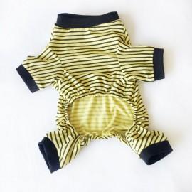 Banana Stripe Penye Tulum Kedi Tulumu Kedi Elbisesi