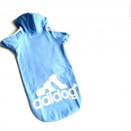 Bebek Mavisi Adidog Kapşonlu Sweatshirt Orta ve Büyük Irklar İçin