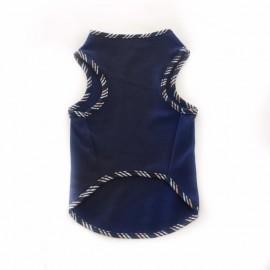 Biyeli Lacivert Atlet Kedi Kıyafeti Kedi Elbisesi
