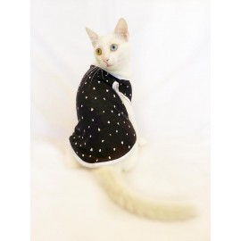 Black Hearts Atlet by Kemique Kedi Kıyafeti  Kedi Elbise