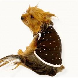 Black Hearts Atlet by Kemique Köpek Kıyafeti Köpek Elbise