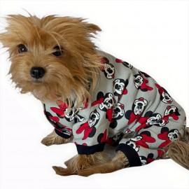 Dark Mickey Penye Tulum Köpek Tulumu  Köpek Elbisesi
