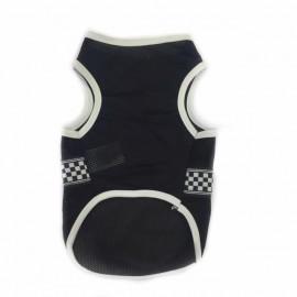Black White Checker Atlet Kedi Kıyafeti Kedi Elbisesi
