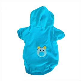 Blue Bear Kapşonlu Sweat by Kemique Köpek Kazağı