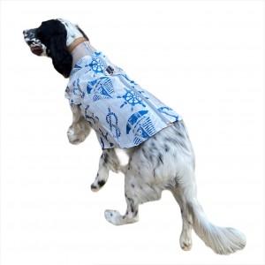 Blue Nautica Su İtici Köpek Yağmurluğu , Orta ve Büyük ırklar için Yağmurluk