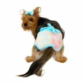 Blue Rainbow Kemique's Secret Köpek İç Çamaşırı  REgl Külot  DON