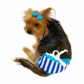 Baby Blue Kemique's Secret Köpek İç Çamaşırı  REgl Külot  DON
