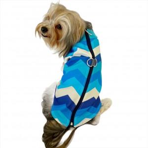 Blue Waves Su itici Yağmurluk Köpek Yağmurluğu