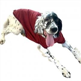 Bordo Tişört Büyük Köpekler İçin