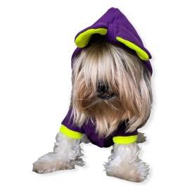 Bunny Pom Kulaklı Köpek Tulumu Kıyafeti