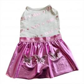 Butterfly Glitz Tütülü Köpek Elbisesi, Köpek Kıyafeti