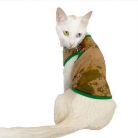 Camouflage Radar Atlet by Kemique Kedi Kıyafeti Kedi Elbise