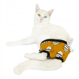 Cute Ant Kemique's Secret Kedi İç Çamaşırı  Regl Külot  Don