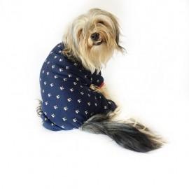 Cute Husky Penye Tulum Köpek Tulumu  Köpek Elbisesi