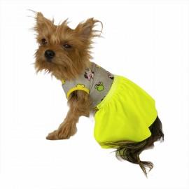 Cute Miki Yellow Köpek Elbisesi Köpek Kıyafeti