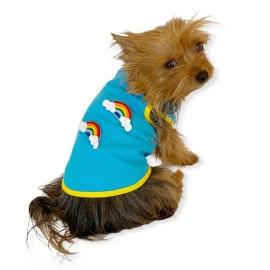 Duo Rainbow Atlet Köpek Kıyafeti  Köpek Elbisesi