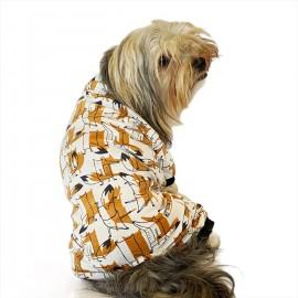 Foxy Rue Penye Tulum Köpek Tulumu  Köpek Elbisesi
