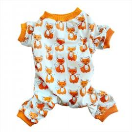 Foxy Penye Tulum Köpek Tulumu  Köpek Elbisesi