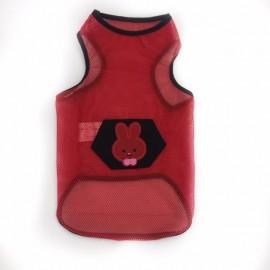 Red Bunny Atlet Köpek Kıyafeti  Köpek Elbisesi