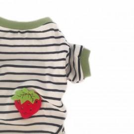 Green Strawberry Penye Tulum Kedi Tulumu Kedi Elbisesi