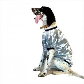 Gri Kamuflaj Tişört Büyük Köpekler İçin