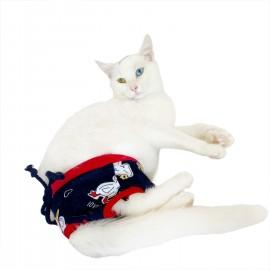 Happy Duck Kemique's Secret Kedi İç Çamaşırı  Regl Külot  Don