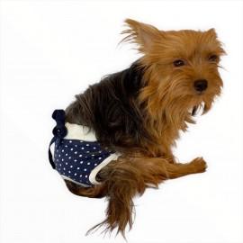 Navy Dots Kemique's Secret Köpek İç Çamaşırı  REgl Külot  DON