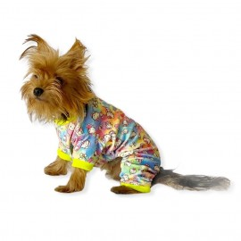 Kitty Penye Tulum Köpek Tulumu  Köpek Pijaması