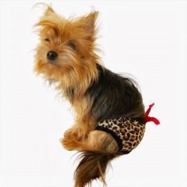 Leopard Beauty Kemique's Secret Köpek İç Çamaşırı  REgl Külot  DON