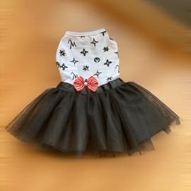 Lo Ve Black Tütülü Kedi Elbisesi, Kedi Kıyafeti