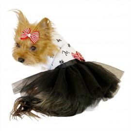 Lo Ve Black Tütülü Köpek Elbisesi