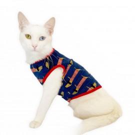 Long Dog Atlet by Kemique Kedi Kıyafeti Kedi elbise