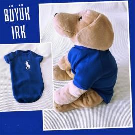 Mavi Polo Sweatshirt Orta ve Büyük ırk