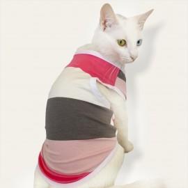 Mega Stripes Atlet  by Kemique  Kedi Kıyafeti Kedi Elbise