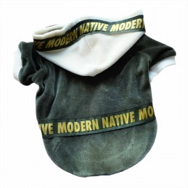 Modern Native Velvet  Sweatshirt Kedi Süeteri Kedi Kıyafeti