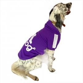 Adidog Purple Hoodie Kapşonlu Sweatshirt Orta ve Büyük Irklar İçin
