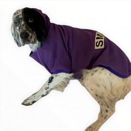 Mor Smile Sweatshirt Orta ve Büyük Köpekler İçin