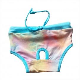 Blue Rainbow Kemique's Secret Kedi İç Çamaşırı  Regl Külot  Don