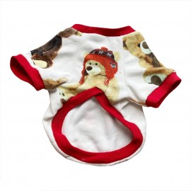 My Teddy Oval Yaka Tişört Kedi Kıyafeti Kedi Elbisesi