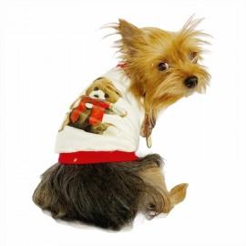 My Teddy Oval Yaka Tişört Köpek Kıyafeti Köpek Elbisesi