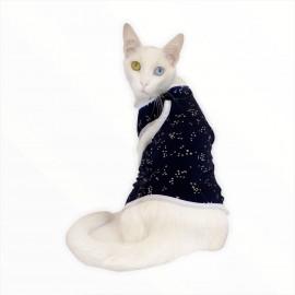 Navy Snow ATLET  by Kemique  Kedi Kıyafeti Kedi Elbise