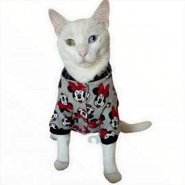 Dark Mickey Penye Tulum Kedi Tulumu Kedi Elbisesi