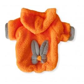Orange Braid Bunny Sweatshirt Kedi Süeteri Kedi Kıyafeti