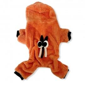 Orange Bunny Kedi Tulumu Kedi Kıyafeti