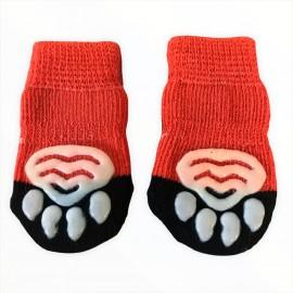 Orange Dollars Köpek Çorabı