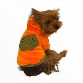 Orange Green Pocket Kapşonlu Sweat by Kemique Köpek Kazağı