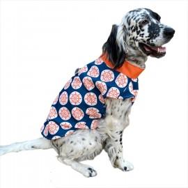 Orange Nautica Su İtici Köpek Yağmurluğu , Orta ve Büyük ırklar için Yağmurluk