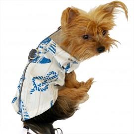 Blue Nautica Su itici Yağmurluk Köpek Yağmurluğu