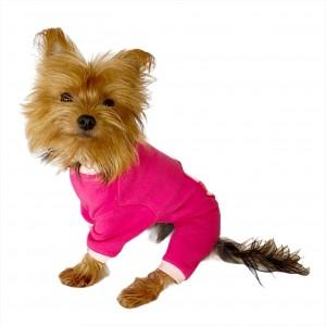 Pink Hearts Polar Kapşonlu Köpek TulumuKöpek Kıyafeti