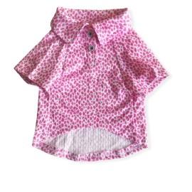 Pink Leo  Neo Polo Yaka Tişört Köpek Kıyafeti Köpek Elbisesi